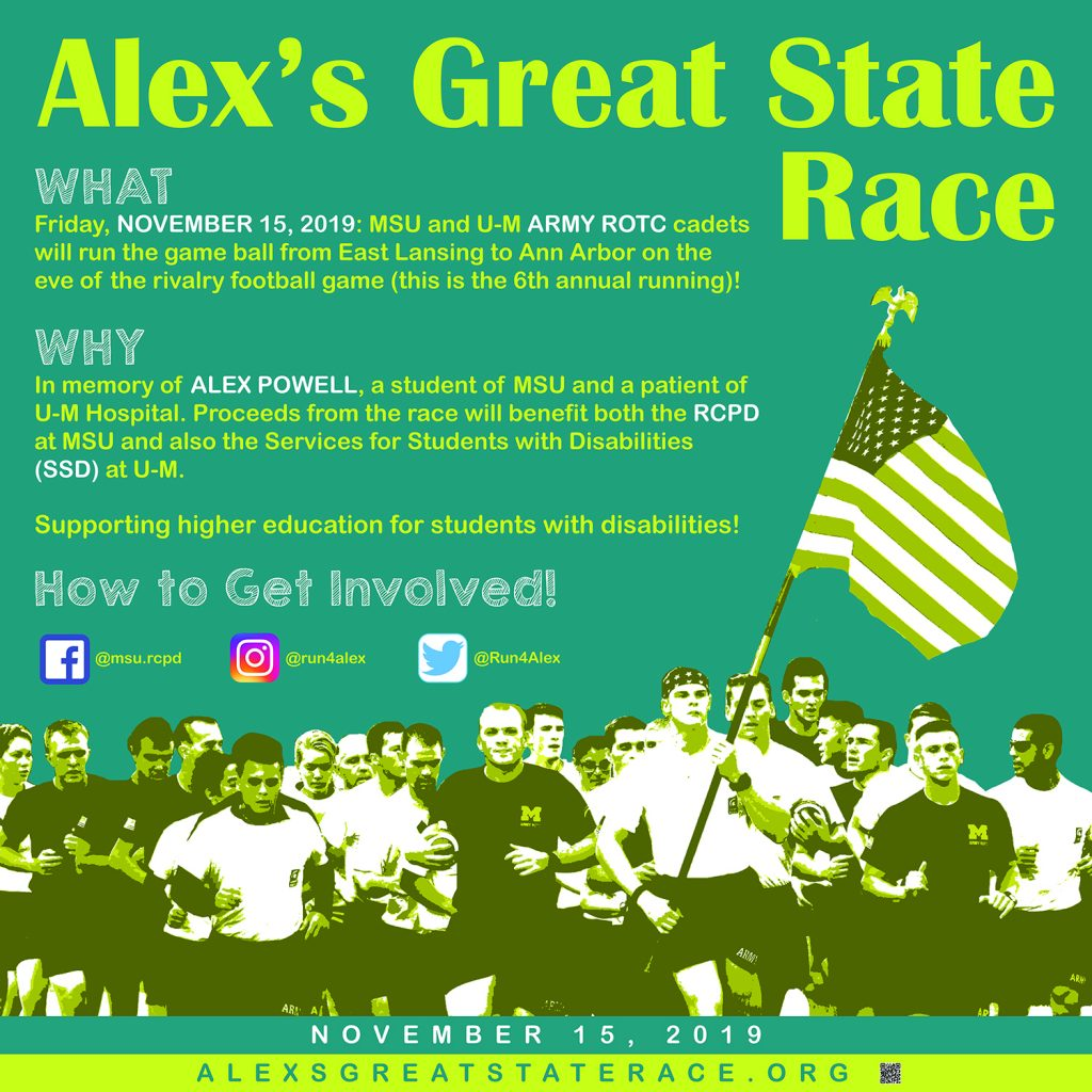 Alex's Great State Race Promotional Image